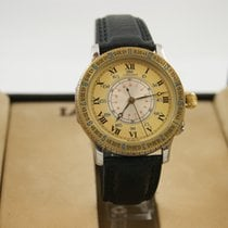 Longines Lindbergh Hour Angle Stahl Gold Full Set
