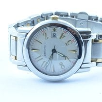Zenith Damen Uhr Port Royal Ronde Quartz Top Zustand Stahl/sta...