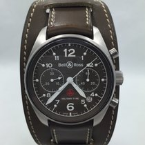 Bell & Ross 126 Pilot Military Type Like New w/Box and Card