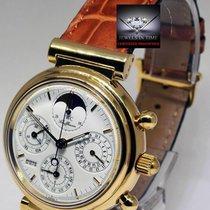 IWC Da Vinci Perpetual Calendar Moon Chronograph Mens Watch...