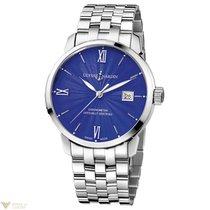 Uylsse Nardin Classico Stainless Steel Bracelet Blue Men`s Watch