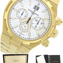 Vacheron Constantin Overseas Chronograph 18K Yellow Gold...
