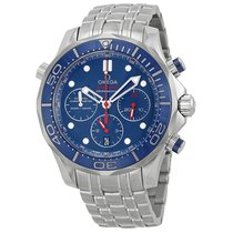 Omega Seamaster 300 Diver Blue Dial Mens Watch 212.30.44.50.03...