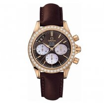 Omega De Ville Chronograph Lady diamonds