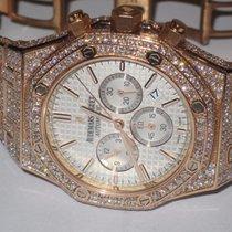 Audemars Piguet Royal Oak Chronograph 18K Rose Gold Diamonds