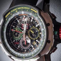 Richard Mille [NEW] RM 39-01 AUTOMATIC AVIATION E6-B FLYBACK...