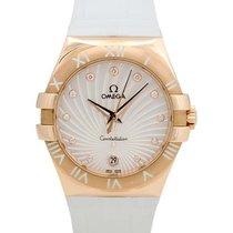 Omega Constellation Steel/18K R/G 35mm Quartz Ladies Watch –...