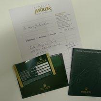 Rolex Warranty Certificate Card Daytona Ref: 116520
