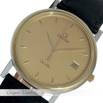 Omega De Ville Classic Stahl / Gold Quarz