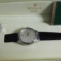 Rolex cellini white gold automatic 39mm newoldstock