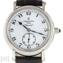 Chronoswiss Uhr Orea Edelstahl 34 mm Automatik Ref.CH 1263