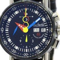 Alain Silberstein Krono Bauhaus Steel Automatic Mens Watch...