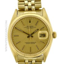 Rolex vintage 1966 14k yellow gold Gent's Date