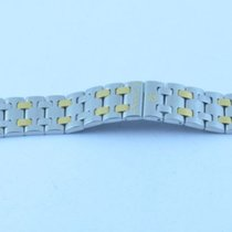 Eterna Kontiki Stahl Armband Bracelet 18mm Stahl/gold Rar