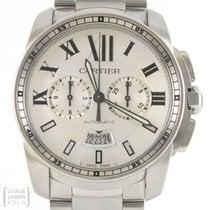 Cartier Uhr Calibre de Cartier XL Chronograph Edelstahl Ref....