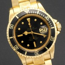勞力士 (Rolex) Unpolished Submariner ref 1680 18k yellow gold...