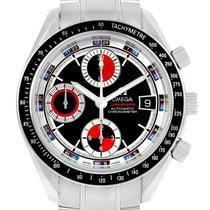 Omega Speedmaster Date Black Red Dial Mens Watch 3210.52.00...