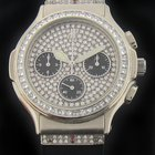 Hublot Platinum Diamond Elegant Chronograph Limited Edition