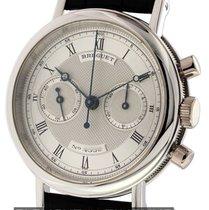 Breguet Classique Chronograph Platinum Silver Dial Ref. 3237