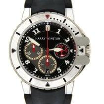Harry Winston Z2 Ocean Diver Chronograph 18K White Gold Zalium