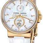 Ulysse Nardin Maxi Marine Chronometer Ladies Watch