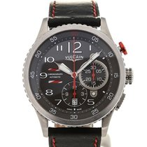Vulcain Aviator Instrument Chronograph 44 Charcoal