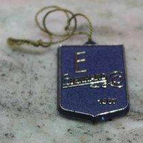 Eberhard & Co. vintage big blu plastic tag very nice and rare