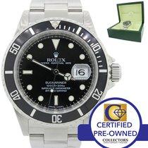 Rolex Submariner Date Steel Dive Watch SEL Pre-Ceramic
