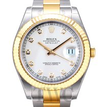 Rolex Perpetual 34 Champagne/Steel 34mm - 114200