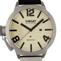 U-Boat Italo Fontana Classico AS 2/A Stahl Automatik 53mm