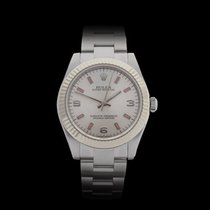 Rolex Oyster Perpetual Stainless steel/18k white gold Ladies...