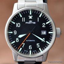 Fortis FLIEGER PILOT 40MM AUTOMATIC 595.11.46.3 STAINLESS...