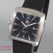 TAG Heuer Professional Sports by TAG Heuer Golf Edelstahl/Kaut...