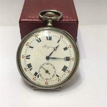 Longines pocket watch in silver