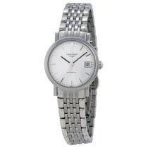 Longines Elegant White Dial Stainless Steel Ladies Watch...