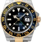 Rolex GMT-Master II Black stainless steel and yellow gold