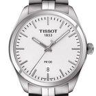 Tissot Men's T1014101103100 PR100 Silver Watch
