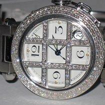 Cartier Pasha Automatic Grill Diamonds