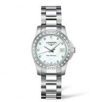 Longines Ladies L32580896 Conquest Quartz Watch