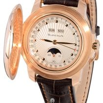 Blancpain Half Moon Hunter's Watch - 18KT Rose Gold - LIMITED