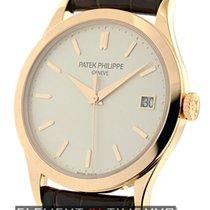 Patek Philippe Calatrava 18k Rose Gold Silver Dial Ref. 5296R