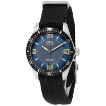 Oris Divers Sixty-Five Blue and Grey Dial Men's Watch...