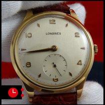 Longines Vintage 18k Yellow Gold Mint