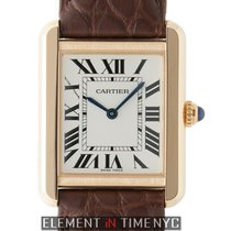 Cartier Tank Collection Tank Solo Ladies 18k Rose Gold Quartz ...