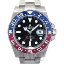 勞力士 (Rolex) GMT-Master II Black/18k white gold Ø40mm - 116719BLRO