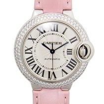 Cartier Ballon Bleu 18k White Gold Silvery White Automatic...