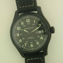 Hamilton Khaki Field Titanium automatic watch Under Hamilton...