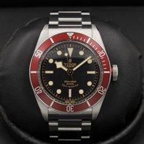 Tudor Heritage - Black Bay - Red Bezel - Bracelet & Nato -...