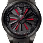 "Perrelet Turbine 44mm ""Double Rotor"" Black-Red Dial -..."
