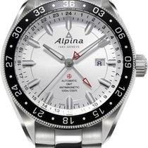 Alpina Geneve Alpiner GMT 4 AL-550S5AQ6B Herren Automatikuhr...
